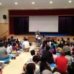 遠藤純夫先生が、沖縄で親子向けの授業 たのしく賢く「宇宙授業」