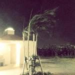 台風発生の日、沖縄の東海岸と西海岸では風は違うのか?