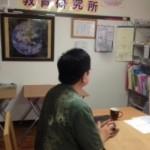 沖縄のたのしい教育の重要人物 伊良波さんが やってきた!