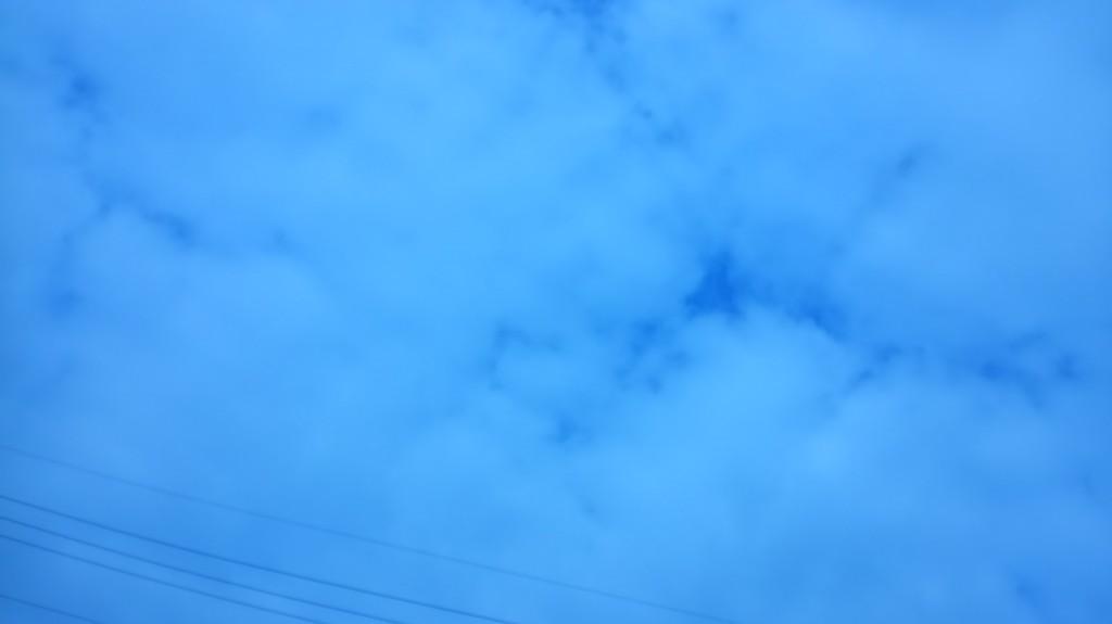 台風19号後の空