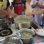 プリッツ団子を学校で!/たのしい教育は子どもの可能性を大きくのばす