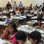 いろいろな学校から集まった子どもたちに「たのしいキャリア教育」で大盛り上がり