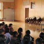 たのしい授業が開く世界|北部の小学校でたのしい教育|ぐぐっ、ぐぐっとにじり寄ってくる姿がたまらない!