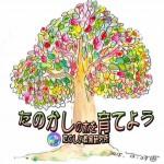 たのしく賢く⇨たのかし(樫)の木を育てよう ロゴ Ver1 ができました!