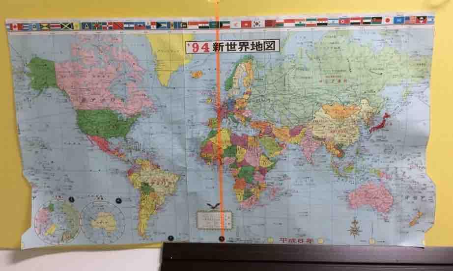 西洋 世界地図