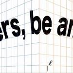 先生たちに贈る言葉! 教師を目指した時のあの想いは決してちっぽけなものではなかったよね。Teachers, be ambitious.
