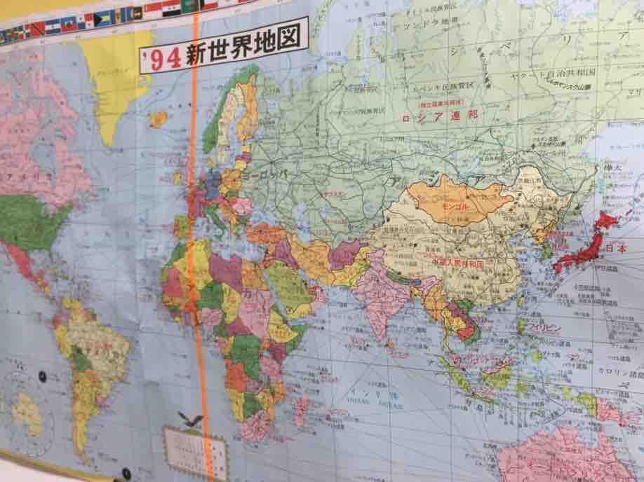 西洋 世界地図2