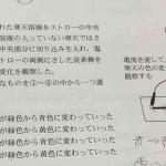 沖縄県教員採用試験2016年度 小学校 理科の解答 「九 イオンの問題 」