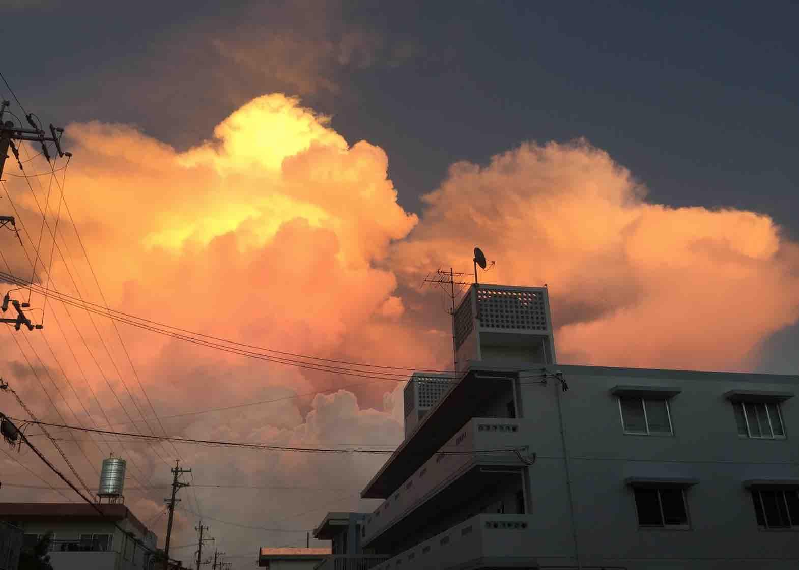 日本一の雲