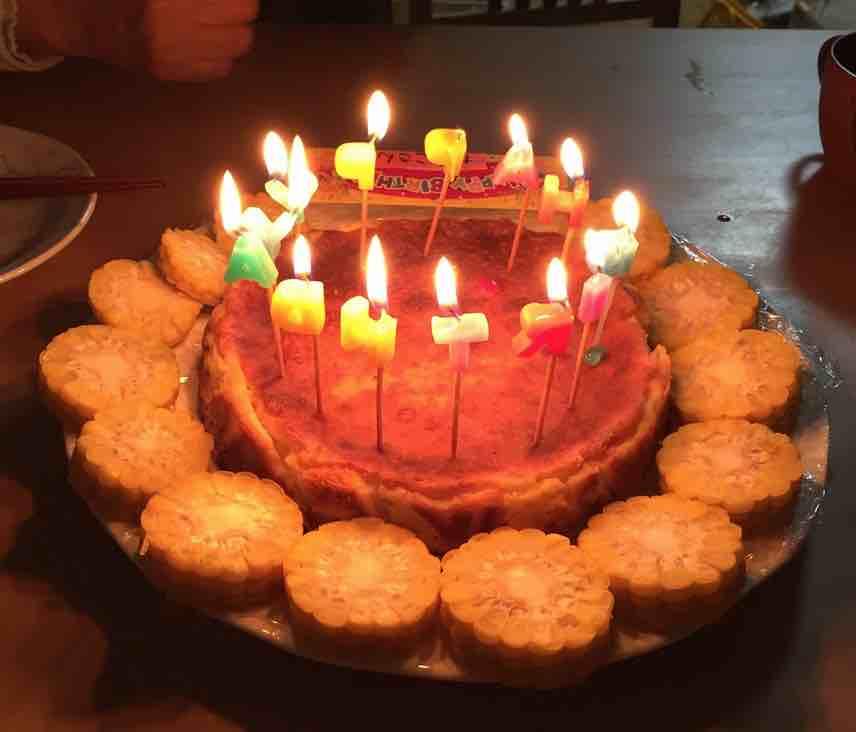 ひまわりケーキ2