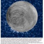 たのしい宇宙教育 地球外生命体を探るミッション エウロパについての最新情報 from NASA. と雑誌ナショナル・ジオグラフィック