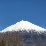 すばらしい山だな・・・新しい年に富士山を見ながら想っていたこと
