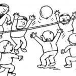 たのしい風船バレーボール
