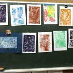 画期的です:たのしいカラーボード版画・スチレン版画/たのCafe & メルマガで紹介した授業実践