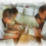 たのしいキャリア教育の授業をたのしむ子どもたち/沖縄県グッジョブフェスタで紹介した授業